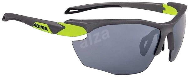 Alpina Twist Five HR CM + ón matt-neon sárga - Kerékpáros szemüveg