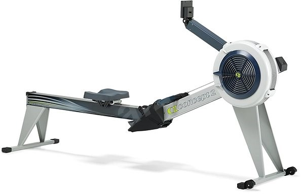 Concept2 E modell, PM5, szürke - Evezőgép