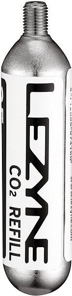 Lezyne CO2 patron 16G - 5 PACK Silver/ W/B Sticker - Pumpa