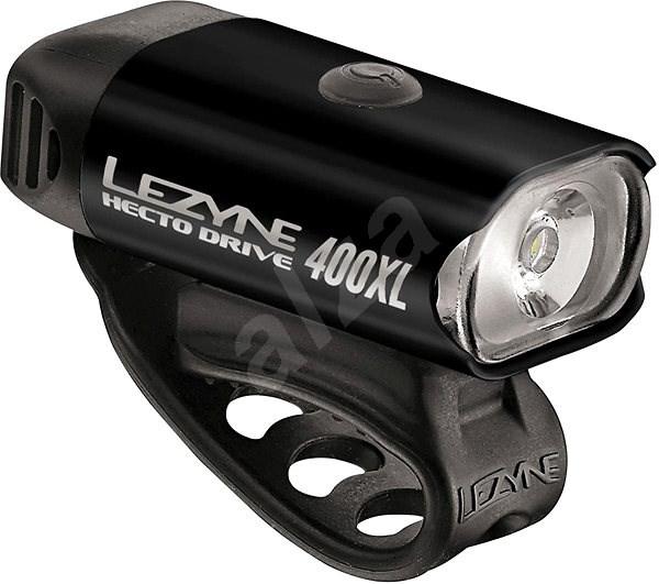 Lezyne Hecto drive 400xl, black/hi gloss - Kerékpár lámpa