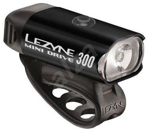 Lezyne Mini Drive 300 blk/hi gloss - Kerékpár lámpa