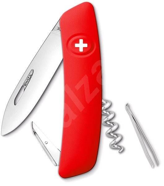 Swiza svájci zsebkés piros D01 - Kés