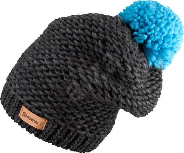 Sherpa Fiona téli sapka - szürke türkiz - téli sapka  9bb61db0c9
