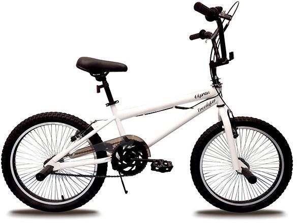 """Olpran BMX, fehér, freestyle 20"""" - Gyerek kerékpár 20"""""""
