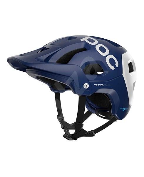 POC Tectal Race SPIN Lead Blue/Hydrogen White Matt M-L/55-58 (M-L) - Kerékpáros sisak
