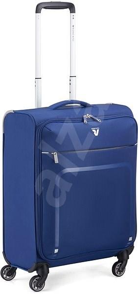 Roncato Lite Plus, 55 cm, 4 kerék, kék - TSA záras utazóbőrönd