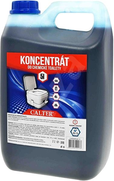 Calter vegyi WC-be - 5L - Koncentrátum