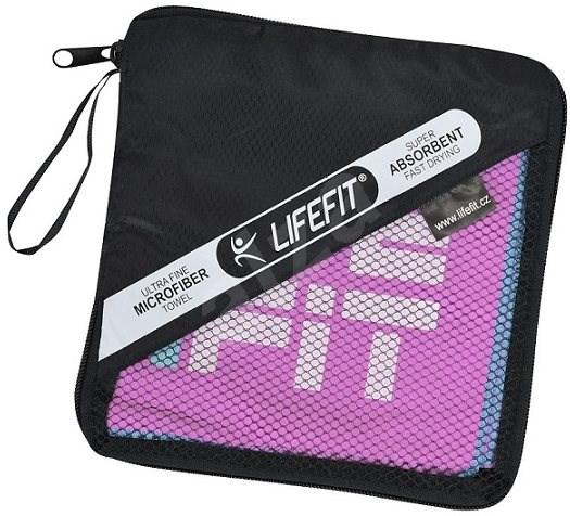Lifefit törülköző, méret: 70 x 140 cm, rózsaszín - Törölköző