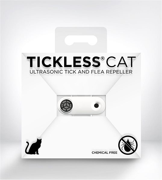 Tickless Mini Cat fehér - Riasztó