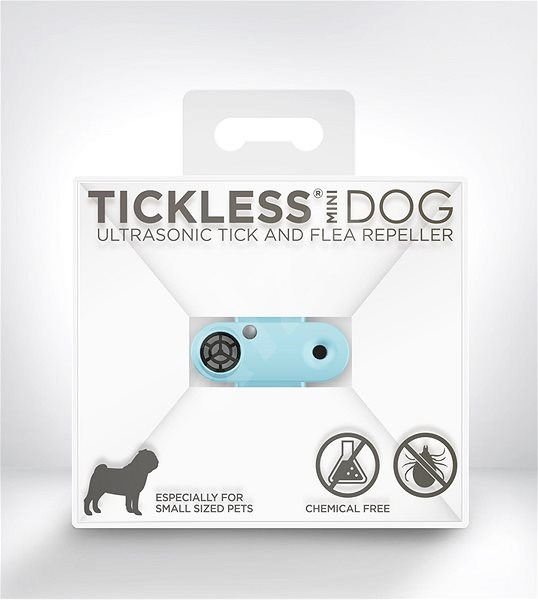 Tickless Mini Dog kék - Riasztó