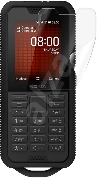 Screenshield NOKIA 800 Tough - kijelzőre - Védőfólia