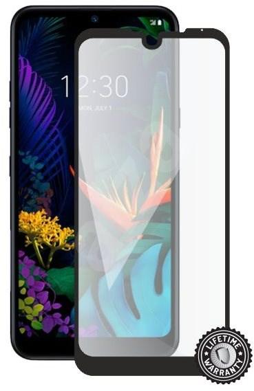 Screenshield LG K50 (full COVER black) - Képernyővédő