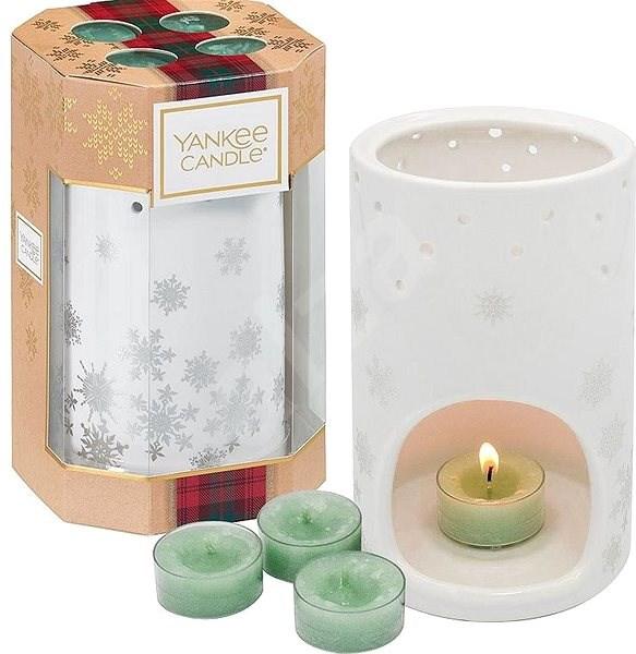 YANKEE CANDLE Luminary Snowflake Set - Ajándékcsomag