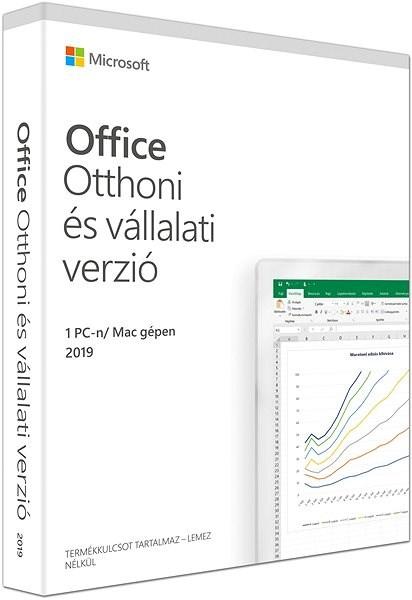Microsoft Office 2019 Otthoni és vállalati verzió HU (BOX) - Irodai szoftver