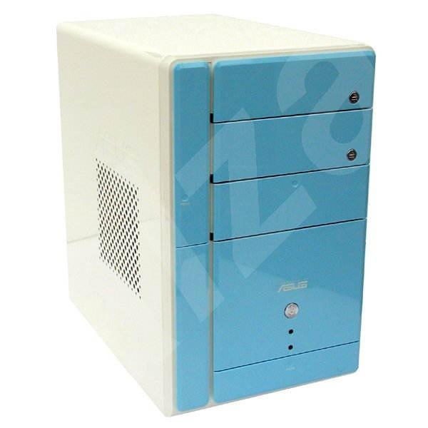 ASUS Barebone Terminator II T2-R DeLuxe - modrý (blue), P4R8T - ATI RS300+IXP200, 2xDDR400, USB2.0,  - PC Case