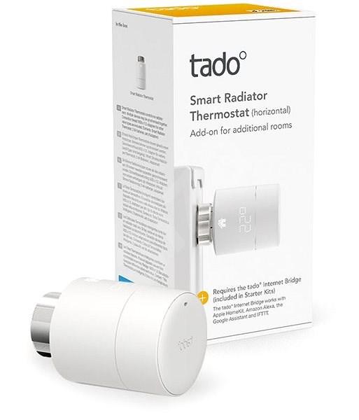 Tado Smart Radiator Thermostat vízszintes beépítéssel - Termosztátfej
