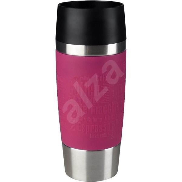 Tefal Utazó bögre 0,36l TRAVEL MUG rózsaszín / rozsdamentes acél - Thermo bögre