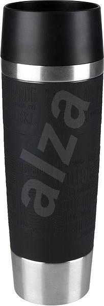 Tefal utazó bögre 0.5l TRAVEL MUG GRANDE fekete/acél - Thermo bögre