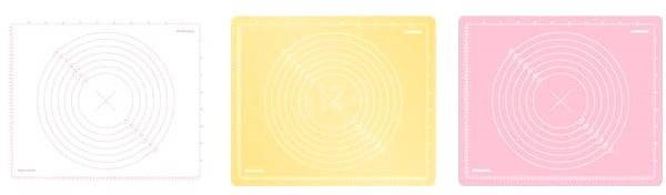 Tescoma Delicia Vál szilikon DECO 55x45cm - Alátét/szőnyeg