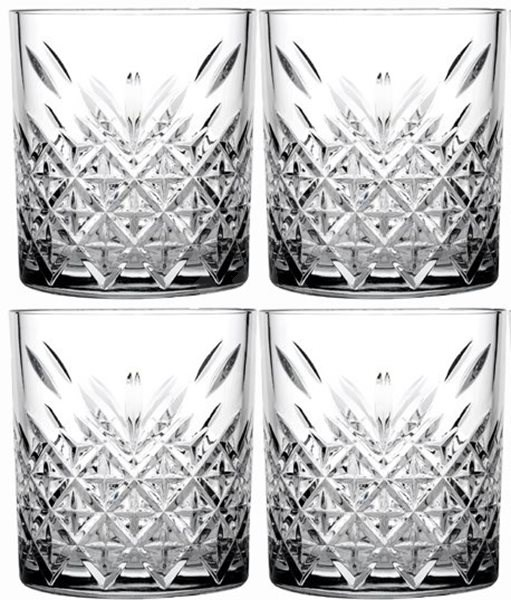 Pasabahce Whiskyspohár 345 ml TIMELESS 4 db - Whiskys pohár
