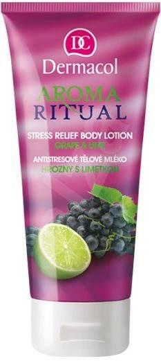 DERMACOL Aroma Ritual Grape & Lime Stress Relief Body Lotion 200 ml - Testápoló tej