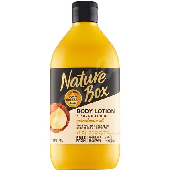 NATURE BOX Body Lotion Macadamia Oil 385 ml - Testápoló tej