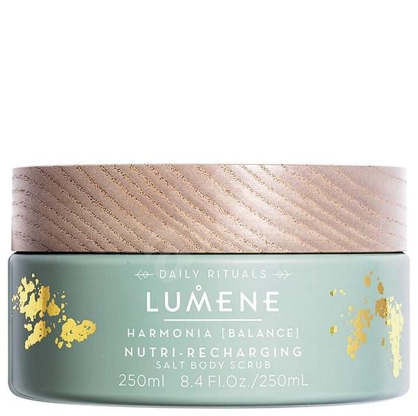 LUMENE Harmonia Nutri-Recharging Salt Body Scrub 250 ml - Hámlasztó