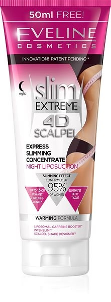 EVELINE Cosmetics Slim Extreme 4d Scalpel Express Slimming Concentrate Night Liposuction 250 ml - Szérum