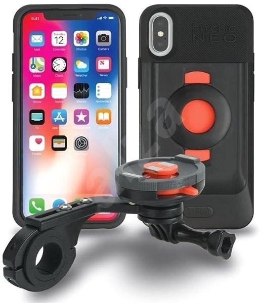 TigraSport FitClic Neo Bike Kit Forward iPhone X - Telefontartó