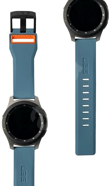 UAG Civilian Strap Slate/Orange Samsung Galaxy Watch 46 mm - Szíj
