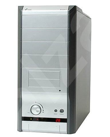 "3R System MiddleTower R700 - 4x 5.25"", 2+5x 3.5"" - stříbrný (silver), bez zdroje - PC Case"