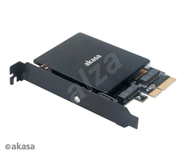 AKASA M.2 PCIe SSD és M.2 SATA SSD ARGB LED adapter / AK-PCCM2P-03 - LED szalag