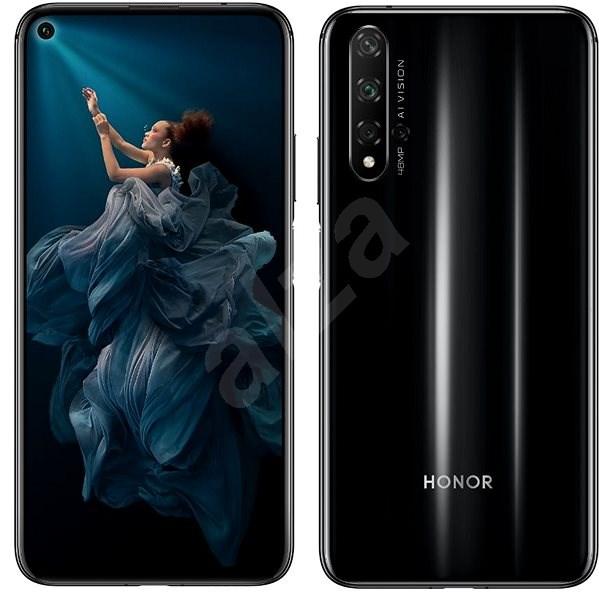 Honor 20 fekete - Mobiltelefon
