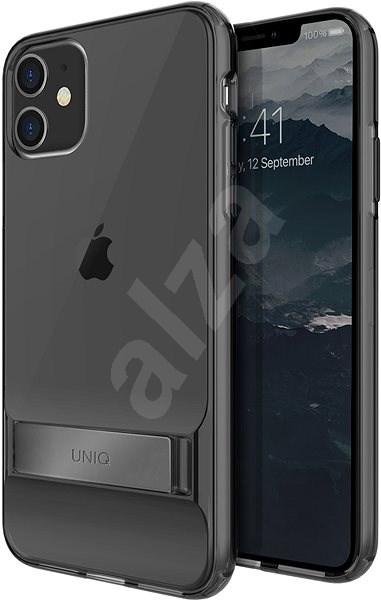 Uniq Cabrio Hybrid tok iPhone 11 készülékhez - Crystal Grey Tinted - Mobiltelefon hátlap