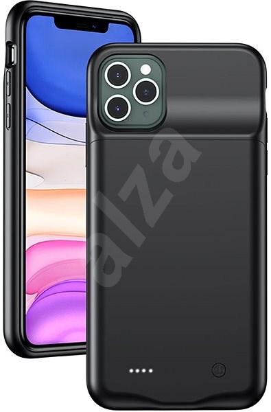 USAMS US-CD110 3500mah-s akkumulátoros tok iPhone 11 PRO-hoz, fekete (EU Blister) - Mobiltelefon hátlap