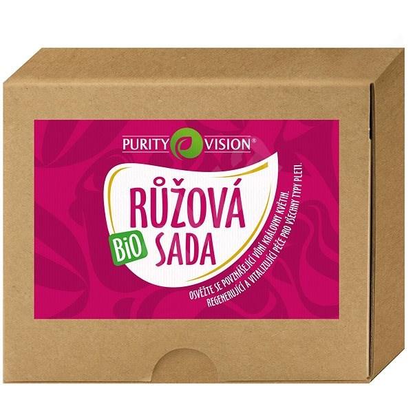 PURITY VISION Bio Rózsa készlet - Kozmetikai ajándékcsomag