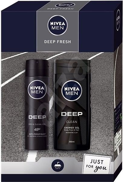 NIVEA Men Box Deo Deep 2020 - Férfi kozmetikai szett
