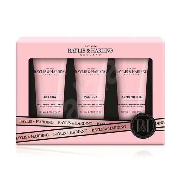 Baylis & Harding kézkrém-készlet Jojoba-, vanília- és mandulaolaj - Kozmetikai ajándékcsomag