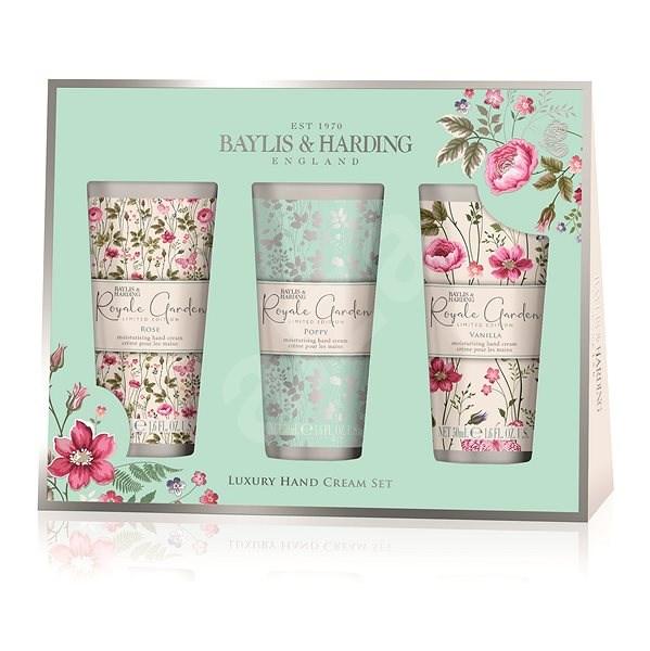 Baylis & Harding Rose, Poppy & Vanilla Kézkrém szett - Kozmetikai ajándékcsomag