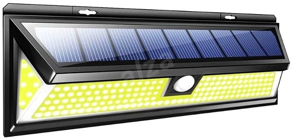 Viking kültéri napelemes LED lámpa mozgásérzékelővel V80180 - Kültéri világítás