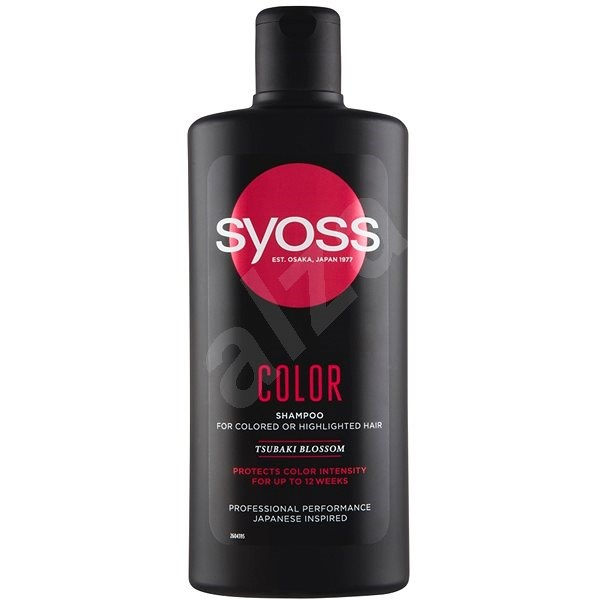 Syoss Color Luminance & Protect sampon festett hajra 500 ml - Sampon