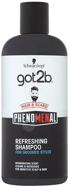 SCHWARZKOPF GOT2B Phenomenal Refreshing Shampoo 250 ml - Férfi sampon