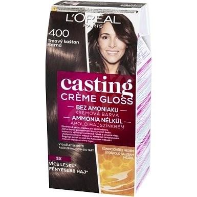 ĽORÉAL CASTING Creme Gloss 400 Barna - Hajfesték