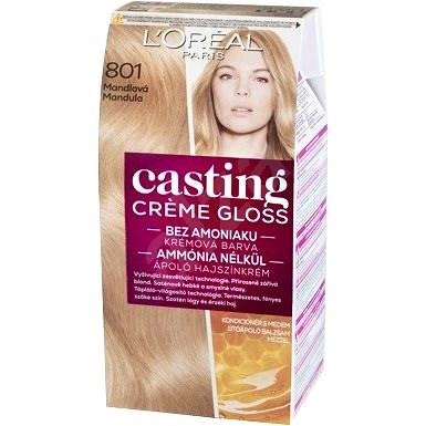 L'ORÉAL Casting Créme Gloss 801 Tartós hajszínkrém, szaténszőke - Hajfesték