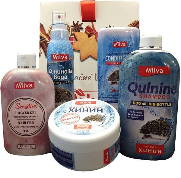 MILVA Chinin - Kozmetikai ajándékcsomag