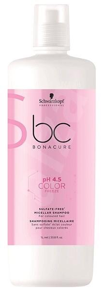 SCHWARZKOPF PROFESSIONAL BC Bonacure pH 4.5 Color Freeze Sulfate Free Micellar 1000 ml - Sampon