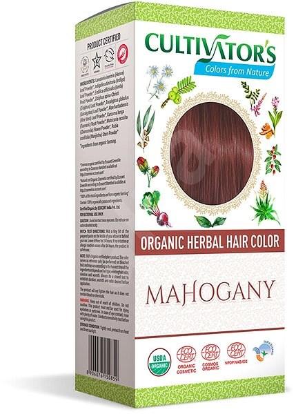 CULTIVATOR Natural 16 mahagóni (4 × 25 g) - Természetes hajfesték