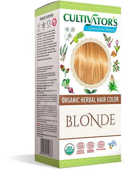 CULTIVATOR Natural 3 szőke (4 x 25 g) - Természetes hajfesték