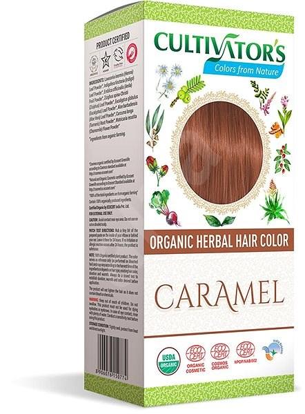 CULTIVATOR Natural 15 karamell (4 × 25 g) - Természetes hajfesték