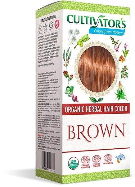 CULTIVATOR Natural 7 barna (4 × 25 g) - Természetes hajfesték